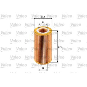 VALEO Ölfilter 90544191 für OPEL, SKODA, CHEVROLET, DAEWOO, GMC bestellen