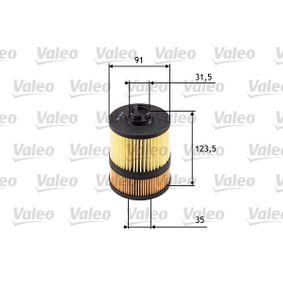 Ölfilter VALEO Art.No - 586549 OEM: 5650338 für OPEL kaufen
