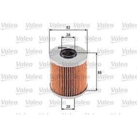 Ölfilter VALEO Art.No - 586543 OEM: 11421709865 für BMW, MINI, ALPINA kaufen