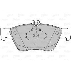 VALEO Bremsbelagsatz, Scheibenbremse 24204420 für MERCEDES-BENZ, MITSUBISHI bestellen