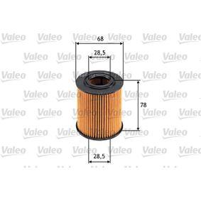 Ölfilter VALEO (586528) für BMW 5er Preise