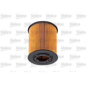 Beliebte Motorölfilter VALEO 586528 für BMW 5er 530 d 184 PS