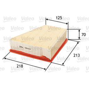 VALEO Luftfilter 585004