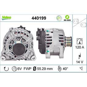 Generator VALEO Art.No - 440199 OEM: Y40518300 für FORD, MAZDA kaufen