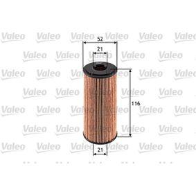 Ölfilter VALEO Art.No - 586514 OEM: 6401800009 für MERCEDES-BENZ, SMART kaufen