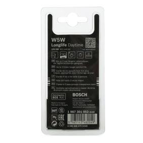 Φωτισμός πορτμπαγκάζ / χώρος αποσκευών 1 987 301 052 BOSCH