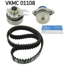 Wasserpumpe + Zahnriemensatz SKF Art.No - VKMC 01108 OEM: 030109119F für VW, AUDI, CUPRA kaufen