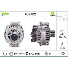 Generator VALEO Art.No - 439782 OEM: 06H903016S für VW, AUDI, SKODA, SEAT kaufen