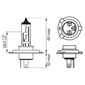 BOSCH Glühlampe, Fernscheinwerfer (1 987 301 002) niedriger Preis