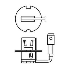 1 987 301 006 Bulb, spotlight from BOSCH quality parts