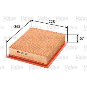 Luftfilter VALEO (585008) für VW GOLF Preise