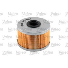 Kraftstofffilter VALEO (587906) für RENAULT SCÉNIC Preise