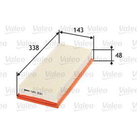 VALEO Luftfilter (585050) niedriger Preis