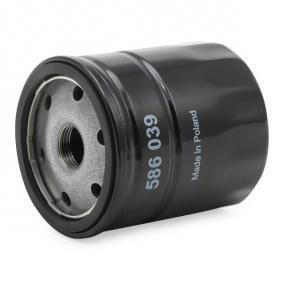 VALEO Oil filter 586039