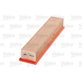 VALEO RENAULT CLIO Luftfilter (585003)