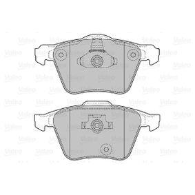 VALEO Bremsbelagsatz, Scheibenbremse 30769125 für VOLVO, SATURN bestellen