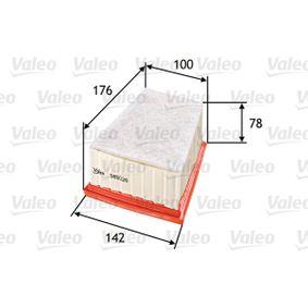 VALEO Motorluftfilter 585026
