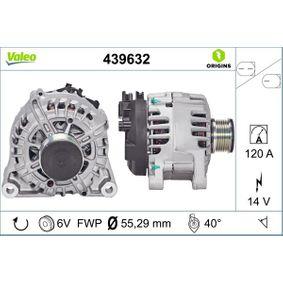 Generator VALEO Art.No - 439632 OEM: Y40518300 für FORD, MAZDA kaufen
