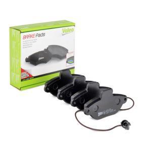 VALEO Brake pad set 598011