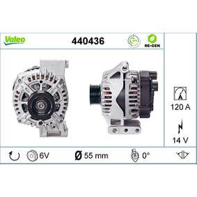Generator VALEO Art.No - 440436 OEM: 51892460 für FIAT kaufen