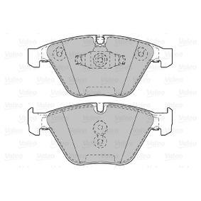 VALEO Bremsbelagsatz, Scheibenbremse 34112288858 für BMW bestellen