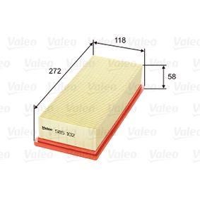 VALEO Въздушен филтър (585102)