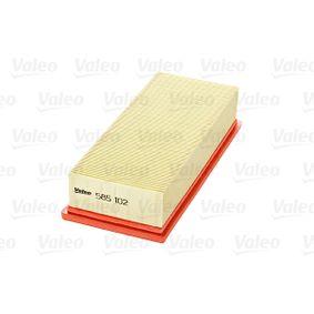VALEO ROVER 25 Въздушен филтър (585102)