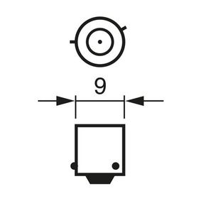 Крушка с нагреваема жичка, задни светлини (1 987 301 061) от BOSCH купете