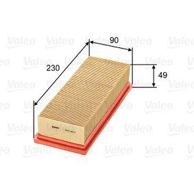 VALEO Luftfilter 585023