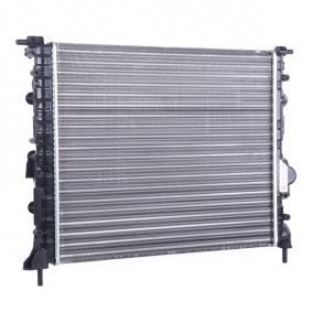 CLIO II (BB0/1/2_, CB0/1/2_) VAN WEZEL Motorkühler 43002197