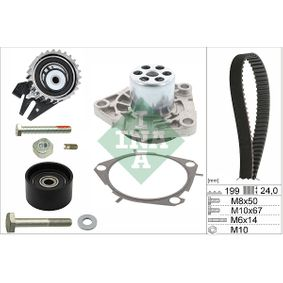 INA Water Pump & Timing Belt Set (530 0562 30) at low price