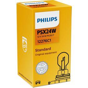 12276C1 Glühlampe, Fernscheinwerfer von PHILIPS Qualitäts Ersatzteile