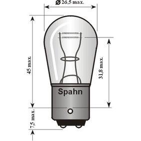 Glühlampe, Brems- / Schlusslicht 6014 Online Shop