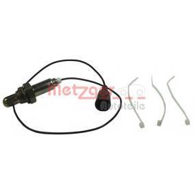 METZGER Lambda-Sonde 0893217 für AUDI 100 1.8 88 PS kaufen