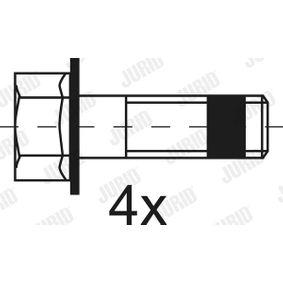 Bremsbelagsatz, Scheibenbremse JURID Art.No - 2919009560 OEM: A0044206920 für VW, MERCEDES-BENZ kaufen