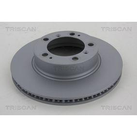 Bremsscheibe TRISCAN Art.No - 8120 101050C OEM: 98635140105 für VW, PORSCHE, LANCIA kaufen