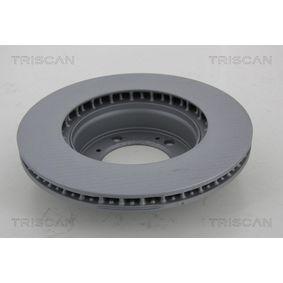TRISCAN Bremsscheibe 98635140105 für VW, PORSCHE, LANCIA bestellen