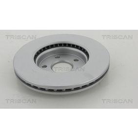 TRISCAN Bremsscheibe 569073 für OPEL, CHEVROLET, BUICK, VAUXHALL, PLYMOUTH bestellen