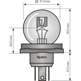 Glühlampe, Fernscheinwerfer 45152 Online Shop