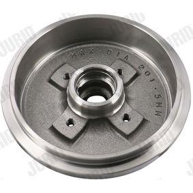 1H0501615A für VW, AUDI, FORD, SKODA, SEAT, Bremstrommel JURID (329126J) Online-Shop