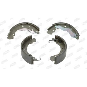 Bremsbackensatz JURID Art.No - 362019J OEM: 701609531D für VW, AUDI, SKODA, SEAT, VAUXHALL kaufen