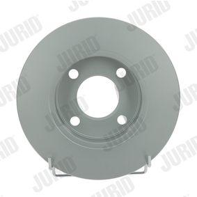Bremsscheibe JURID Art.No - 561238JC OEM: 431615301 für VW, AUDI, SKODA, SEAT, PORSCHE kaufen