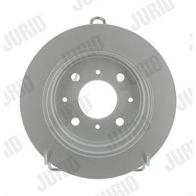 Спирачен диск JURID Art.No - 561383JC OEM: GBD90817 за HONDA, SKODA, LAND ROVER, ROVER, MG купете