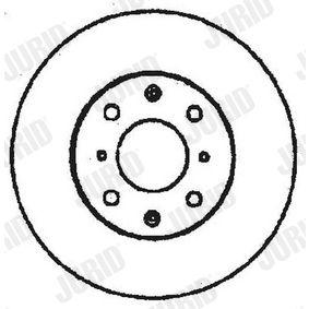 JURID Спирачен диск GBD90817 за HONDA, SKODA, LAND ROVER, ROVER, MG купете