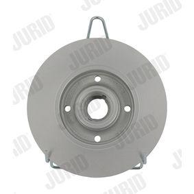 Bremsscheibe JURID Art.No - 561460JC OEM: 191615601A für VW, AUDI, SKODA, SEAT, PORSCHE kaufen