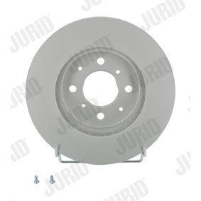Спирачен диск JURID Art.No - 561630JC OEM: SDB000990 за HONDA, SKODA, LAND ROVER, ROVER, MG купете