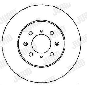 JURID Спирачен диск 45251SK7A00 за HONDA, LAND ROVER, ROVER, MG, ACURA купете
