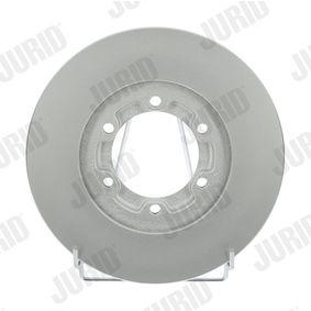 Bremsscheibe JURID Art.No - 561643JC OEM: 8941733440 für OPEL, CHEVROLET, ISUZU, CADILLAC, PONTIAC kaufen