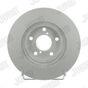 Bremsscheibe JURID Art.No - 561666JC OEM: 26310AA021 für SUBARU, BEDFORD kaufen