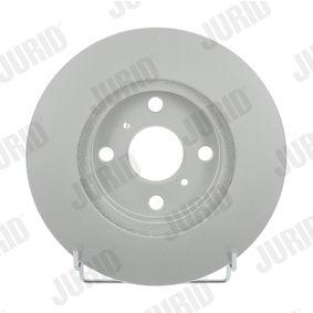 Bremsscheibe JURID Art.No - 561968JC OEM: 4351212550 für TOYOTA, SUZUKI, CHEVROLET, LEXUS, ISUZU kaufen